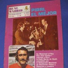 Coleccionismo deportivo: REVISTA REAL MADRID. PUBLICACIÓN MENSUAL. 1976. Nº 314. SIN POSTER. . Lote 98795363