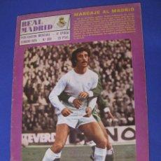 Coleccionismo deportivo: REVISTA REAL MADRID. PUBLICACIÓN MENSUAL. 1976. Nº 309. SIN POSTER. . Lote 98795443