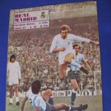 Coleccionismo deportivo: REVISTA REAL MADRID. PUBLICACIÓN MENSUAL. 1977. Nº 321. SIN POSTER. . Lote 98795711