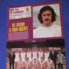 Coleccionismo deportivo: REVISTA REAL MADRID. PUBLICACIÓN MENSUAL. 1977. Nº 324. SIN POSTER. . Lote 98795815