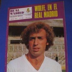 Coleccionismo deportivo: REVISTA REAL MADRID. PUBLICACIÓN MENSUAL. 1977. Nº 326. SIN POSTER. . Lote 98796003