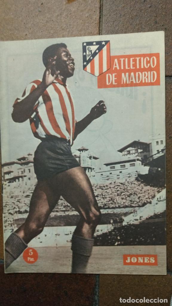 REVISTA OFICIAL ATLÉTICO DE MADRID, AÑO II NUM 8 AGOSTO 1960 JONES (Coleccionismo Deportivo - Revistas y Periódicos - otros Fútbol)