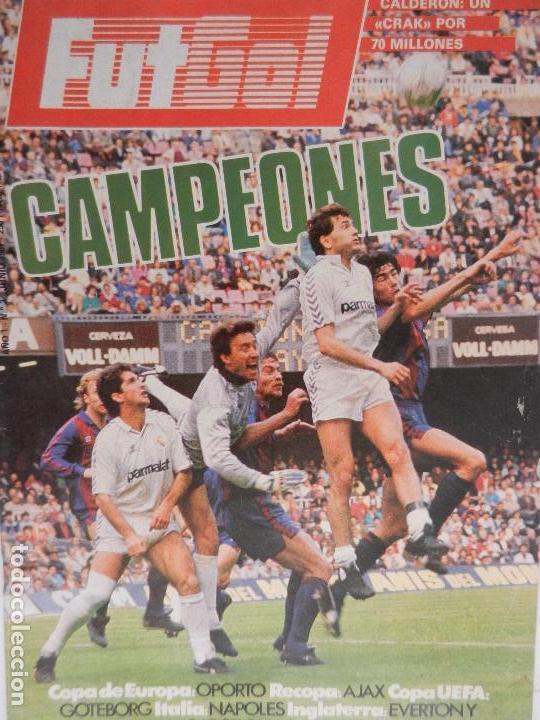 FUT GOL CAMPEONES AÑO 1 Nº 3 JUNIO 1987. VISTO PARA SENTENCIA. (Coleccionismo Deportivo - Revistas y Periódicos - otros Fútbol)