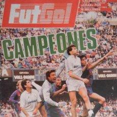 Coleccionismo deportivo: FUT GOL CAMPEONES AÑO 1 Nº 3 JUNIO 1987. VISTO PARA SENTENCIA. . Lote 99364123