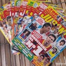 Coleccionismo deportivo: LOTE 10 REVISTAS JUGÓN!.. Lote 99369403
