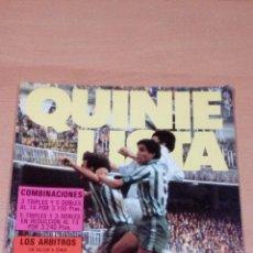 Coleccionismo deportivo: QUINIELISTA - AÑO II - NUMERO 34( ERROR ES 35) - 1983 - INCLUYE POSTER REAL BETIS - VER FOTOS - . Lote 99472463