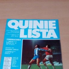 Coleccionismo deportivo: QUINIELISTA - AÑO II - NUMERO 40 - 1983 - INCLUYE POSTER ESPAÑOL- VER FOTOS - . Lote 99472803