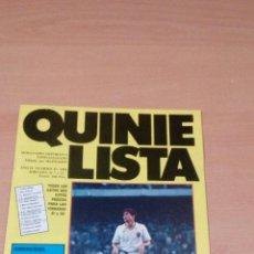 Coleccionismo deportivo: QUINIELISTA - AÑO II - NUMERO 45 - 1984 - INCLUYE POSTER VALENCIA - VER FOTOS -. Lote 99474007