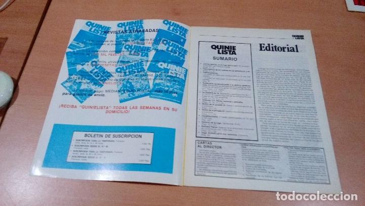 Coleccionismo deportivo: quinielista - año II - numero 45 - 1984 - incluye poster valencia - ver fotos - - Foto 3 - 99474007