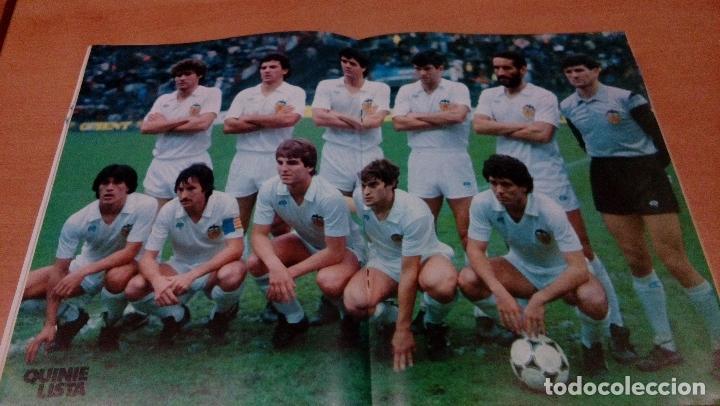 Coleccionismo deportivo: quinielista - año II - numero 45 - 1984 - incluye poster valencia - ver fotos - - Foto 4 - 99474007