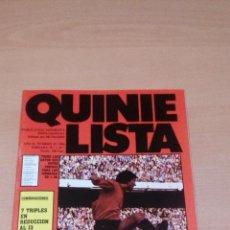 Coleccionismo deportivo: QUINIELISTA - AÑO II - NUMERO 47 - 1984 - INCLUYE POSTER OSASUNA - VER FOTOS -. Lote 99474307