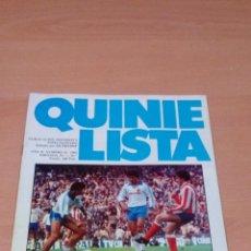 Coleccionismo deportivo: QUINIELISTA - AÑO II - NUMERO 52 - 1984 - INCLUYE POSTER REAL ZARAGOZA- VER FOTOS -. Lote 99474799