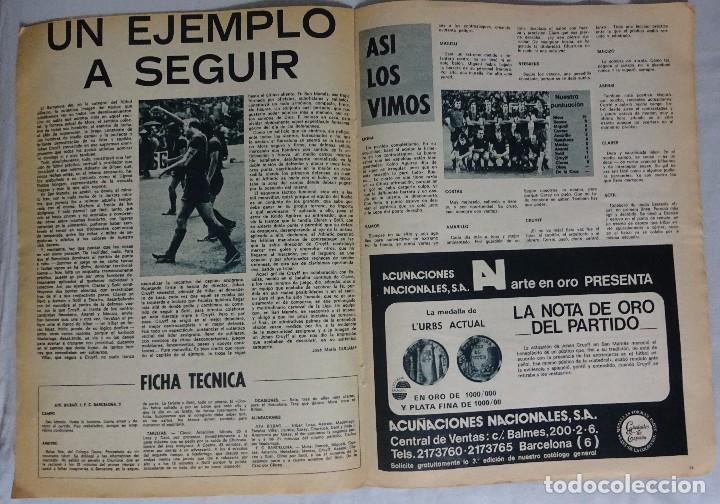 Coleccionismo deportivo: R.B. Nº 603 OCTUBRE 1976. ATH. BILBAO 1 BARCELONA 3 - Foto 2 - 99561527