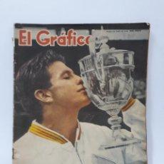 Coleccionismo deportivo: EL GRAFICO - Nº 40 - AÑO 1958 - Nº 2030 PORTADA ASHLEY COOPER. Lote 99801219
