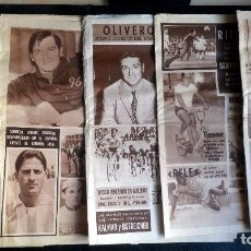 Coleccionismo deportivo: LOTE DE 5 DIARIOS DEPORTIVOS DICEN FINALES DE LOS 60 , VER FOTOS. Lote 99920859