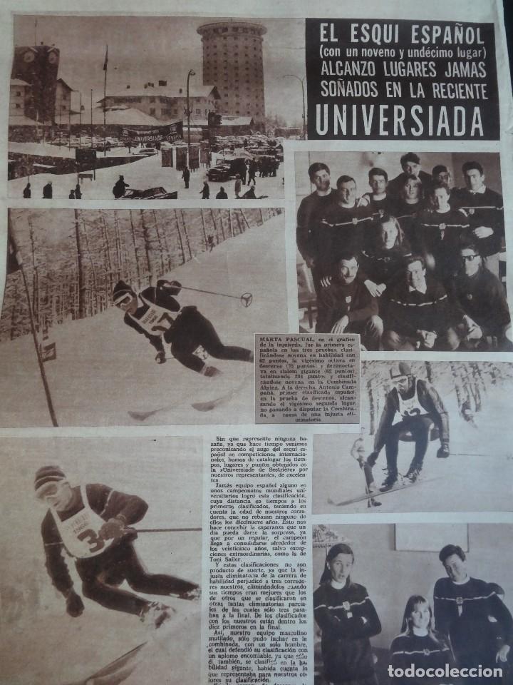 Coleccionismo deportivo: LOTE DE 5 DIARIOS DEPORTIVOS DICEN FINALES DE LOS 60 , VER FOTOS - Foto 3 - 99920859