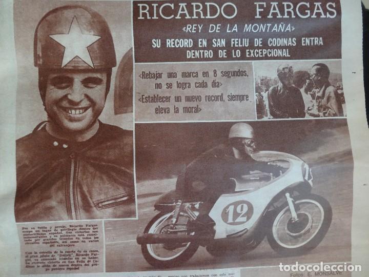 Coleccionismo deportivo: LOTE DE 5 DIARIOS DEPORTIVOS DICEN FINALES DE LOS 60 , VER FOTOS - Foto 10 - 99920859