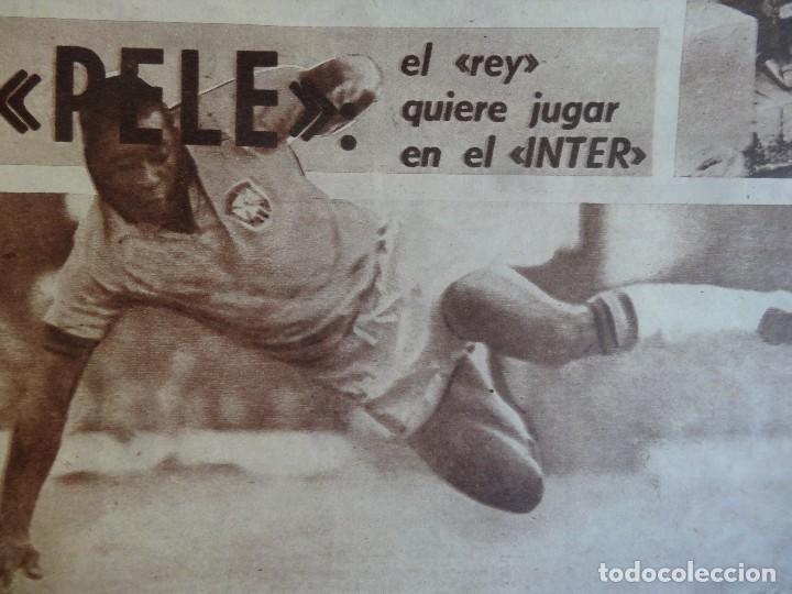 Coleccionismo deportivo: LOTE DE 5 DIARIOS DEPORTIVOS DICEN FINALES DE LOS 60 , VER FOTOS - Foto 11 - 99920859
