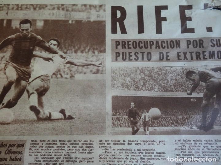 Coleccionismo deportivo: LOTE DE 5 DIARIOS DEPORTIVOS DICEN FINALES DE LOS 60 , VER FOTOS - Foto 12 - 99920859