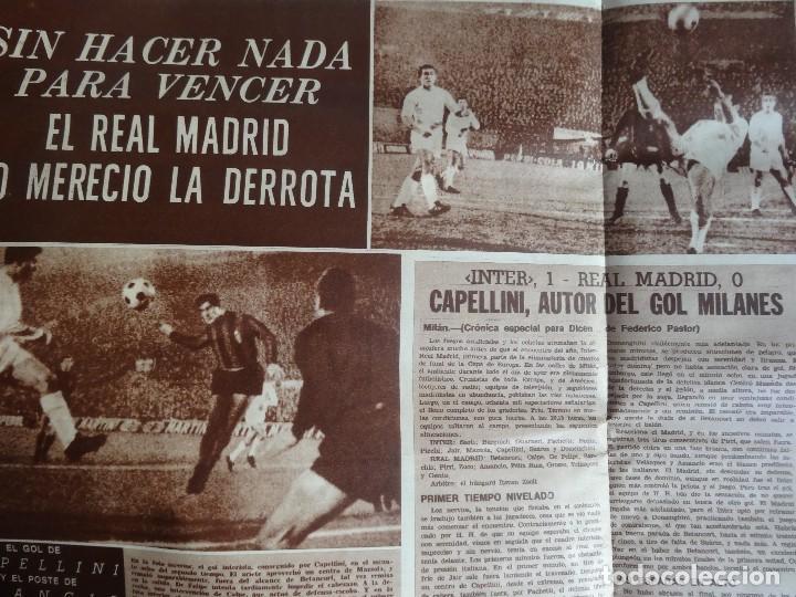 Coleccionismo deportivo: LOTE DE 6 DIARIOS DEPORTIVOS DICEN FINALES DE LOS 60 , VER FOTOS - Foto 2 - 99921019