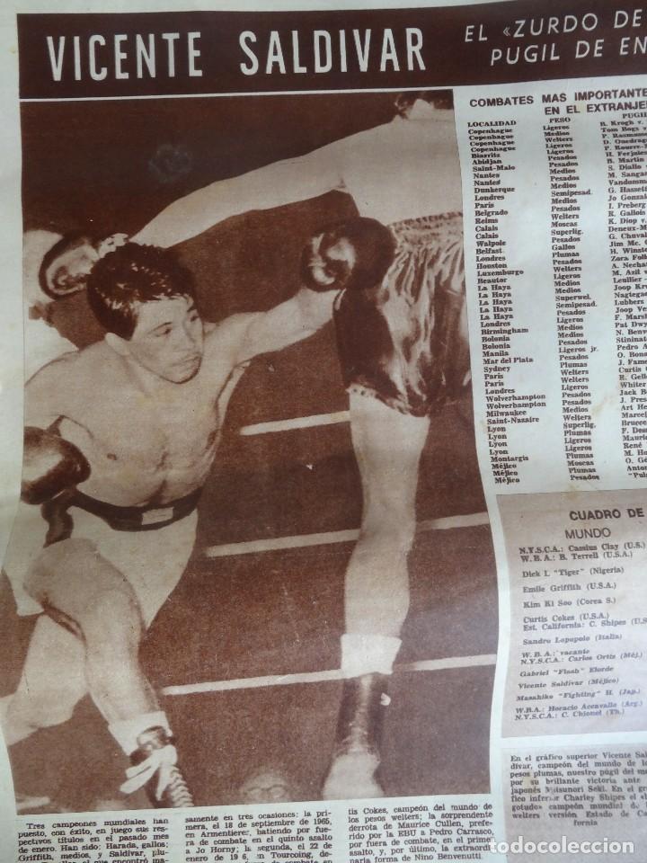 Coleccionismo deportivo: LOTE DE 6 DIARIOS DEPORTIVOS DICEN FINALES DE LOS 60 , VER FOTOS - Foto 3 - 99921019