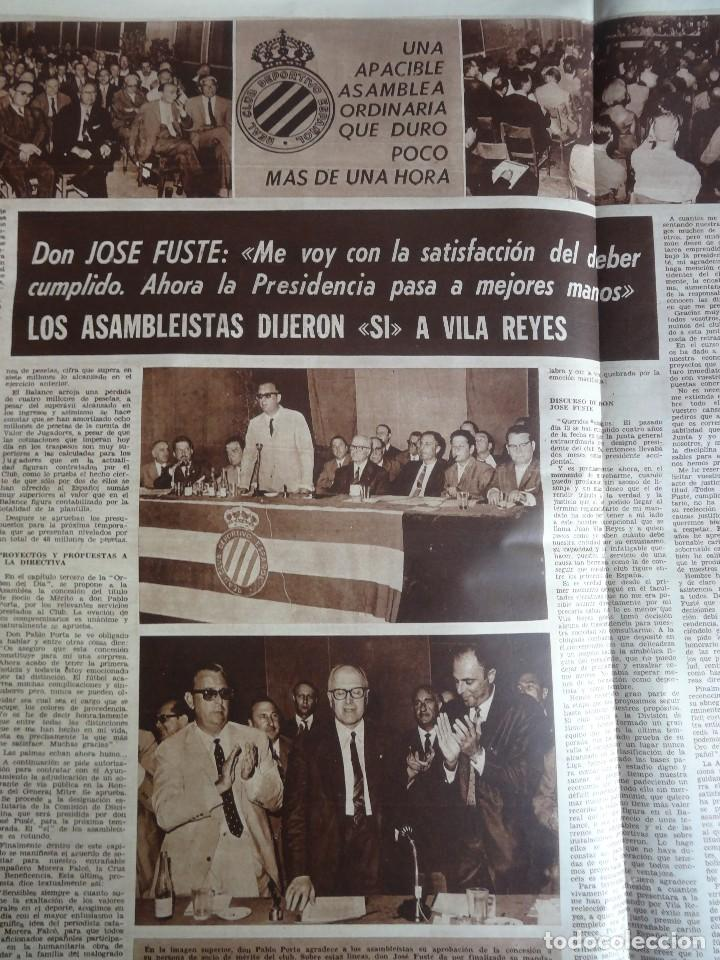 Coleccionismo deportivo: LOTE DE 6 DIARIOS DEPORTIVOS DICEN FINALES DE LOS 60 , VER FOTOS - Foto 6 - 99921019