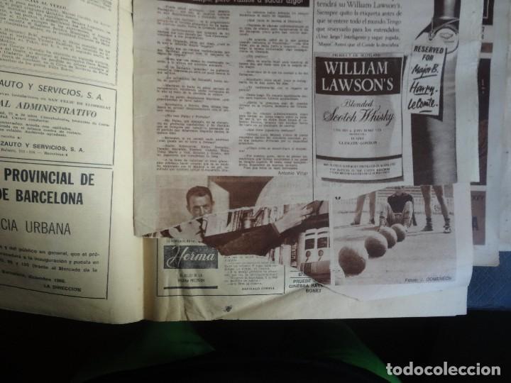 Coleccionismo deportivo: LOTE DE 6 DIARIOS DEPORTIVOS DICEN FINALES DE LOS 60 , VER FOTOS - Foto 15 - 99921019