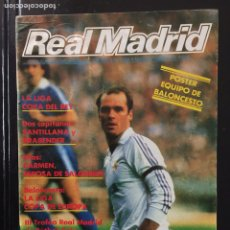 Coleccionismo deportivo: REVISTA REAL MADRID. N 394. 1983. PÓSTER REAL MADRID BALONCESTO. Lote 99932264