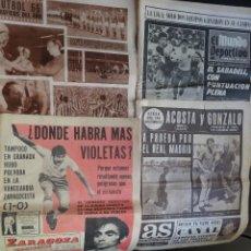 Coleccionismo deportivo: LOTE DE 4 PERIÓDICOS DEPORTIVOS FINAL AÑOS 60, VER FOTOS. Lote 99944691