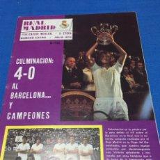 Coleccionismo deportivo: REVISTA REAL MADRID.EXTRA.1964. 4-0 AL BARCELONA Y CAMPEONES. Lote 99949790