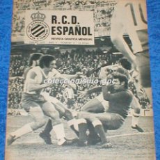 Coleccionismo deportivo: R.C.D. ESPAÑOL Nº 4 ENERO 1975 REVISTA GRAFICA MENSUAL RCD ESPANYOL RAFAEL MARQUEZ PITUS PRAT GRANER. Lote 100027927