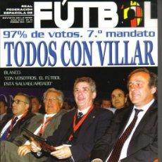 Coleccionismo deportivo: TODOS CON VILLAR EN 2012 - REVISTA OFICIAL DE LA FEDERACION ESPAÑOLA DE FUTBOL Nº 151 (NUEVA) . Lote 100043055