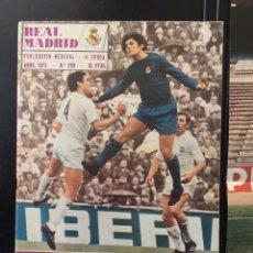 Coleccionismo deportivo: REVISTA REAL MADRID.N 263.1972. REAL MADRID CAMPEÓN DE LIGA BALONCESTO. Lote 100118727