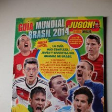 Coleccionismo deportivo: GUIA MUNDIAL BRASIL 2014. REVISTA JUGON DE PANINI.. Lote 100156863