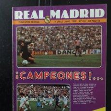 Coleccionismo deportivo: REVISTA REAL MADRID -N 361-1980. COPA EUROPA. FINAL. NOTTINGHAM,1-HAMBURGO,0. CAMPEONES DE LIGA. Lote 100197870