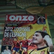 Coleccionismo deportivo: OMZE MONDIAL 2012. ESPECIAL ESPAÑA. MESSI ONZE D'OR. Lote 100259123
