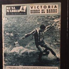 Coleccionismo deportivo: REVISTA REAL MADRID-N 116-1960. NIZA,3-REAL MADRID,2.COPA DE EUROPA. Lote 100276772