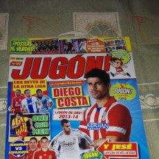 Coleccionismo deportivo: REVISTA JUGON! NÚMERO 91. EDITORIAL PANINI.. Lote 100551859