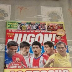 Coleccionismo deportivo: REVISTA JUGON! NÚMERO 27. EDITORIAL PANINI.. Lote 100552179
