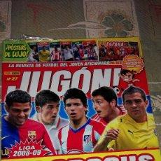 Coleccionismo deportivo: REVISTA JUGON! NÚMERO 27. EDITORIAL PANINI.. Lote 100552263