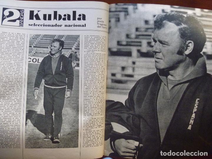 Coleccionismo deportivo: KUBALA A DOS BANDAS SELECCIÓN ESPAÑA HACIA EL MUNDIAL1973 - Foto 2 - 101094823