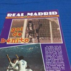 Coleccionismo deportivo: REVISTA REAL MADRID-355-1979. COPA EUROPA. VUELTA. OPORTO. Lote 101164460