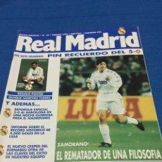 Coleccionismo deportivo: REVISTA REAL MADRID-65-1995. R.MADRID,5-BARCELONA,0. Lote 101167168