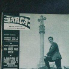 Coleccionismo deportivo: REVISTA BARÇA 353-1962. Lote 101215599