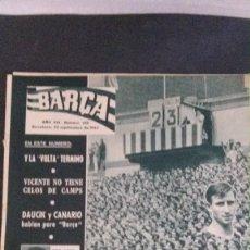 Coleccionismo deportivo: REVISTA BARÇA 356-1962. Lote 101215647