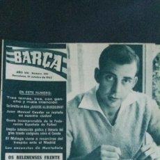 Coleccionismo deportivo: REVISTA BARÇA 359-1962. Lote 101216311