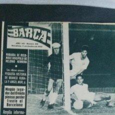 Coleccionismo deportivo: REVISTA BARÇA 362-1962. Lote 101216499