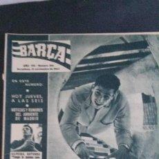 Coleccionismo deportivo: REVISTA BARÇA 364-1962. Lote 101216619