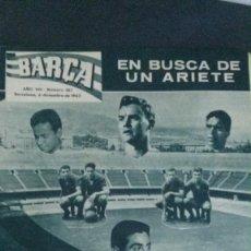 Coleccionismo deportivo: REVISTA BARÇA 367-1962. Lote 101216655