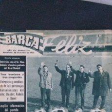 Coleccionismo deportivo: REVISTA BARÇA 370-1962. Lote 101216859